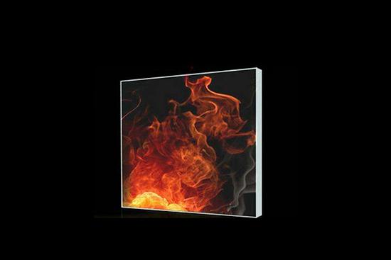 壁爐玻璃的熱加工性質